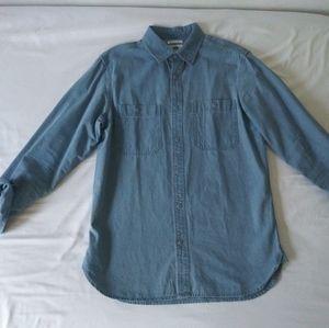 Old navy denim shirt for men